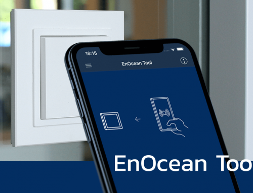 EnOcean Tool. Self-powered IoT configurator for smart buildings.