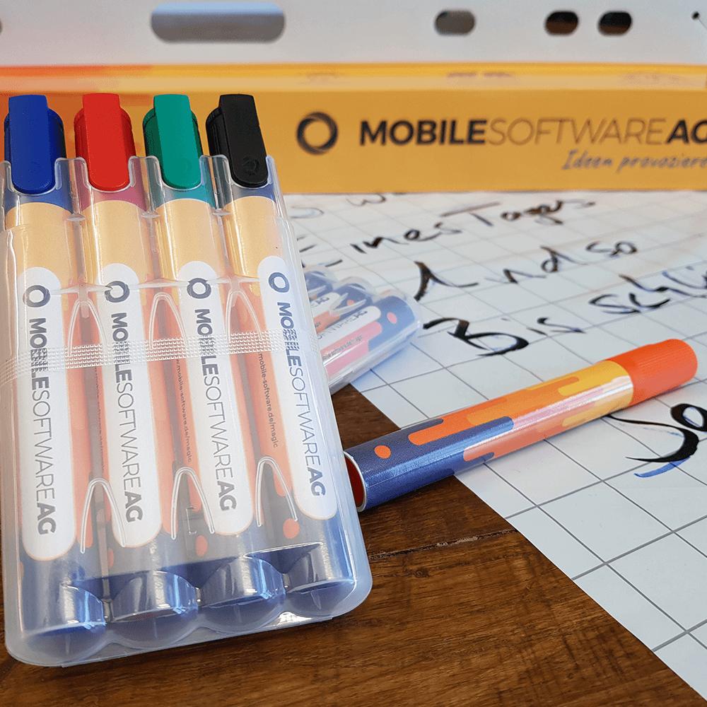 Whiteboard marker von Mobile Software AG