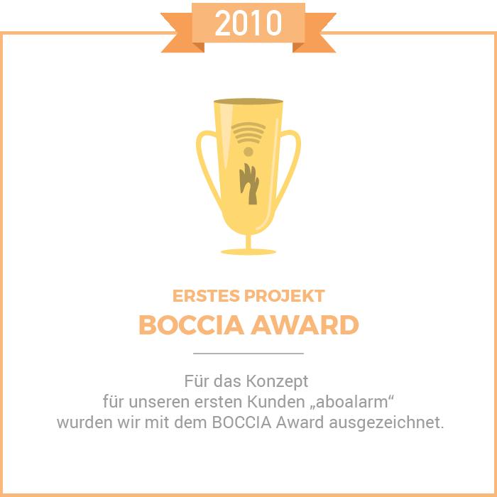Boccia Award 2010