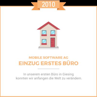 Erstes Buero 2010
