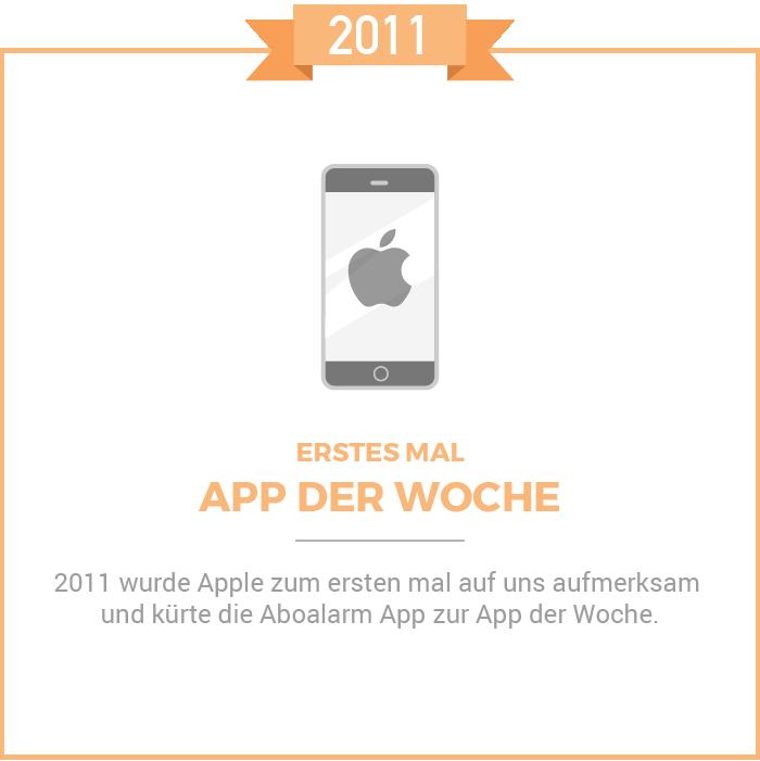 App der Woche 2011