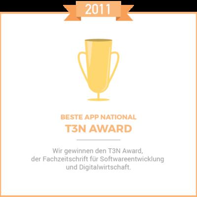 T3n Award 2011