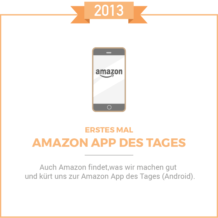 Amazon App des Tages 2013