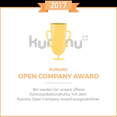 Kununu Award 2017