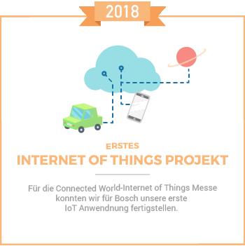 Erstes IoT 2018