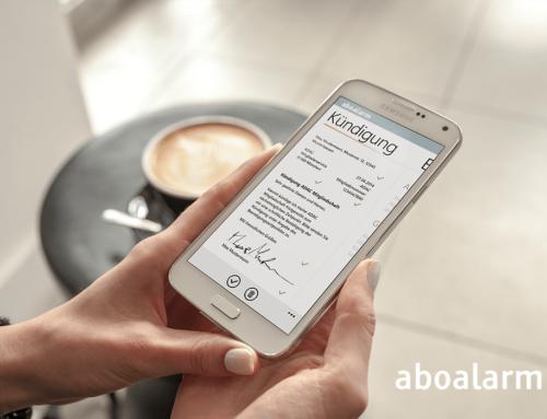 Aboalarm App – Abos einfach kündigen