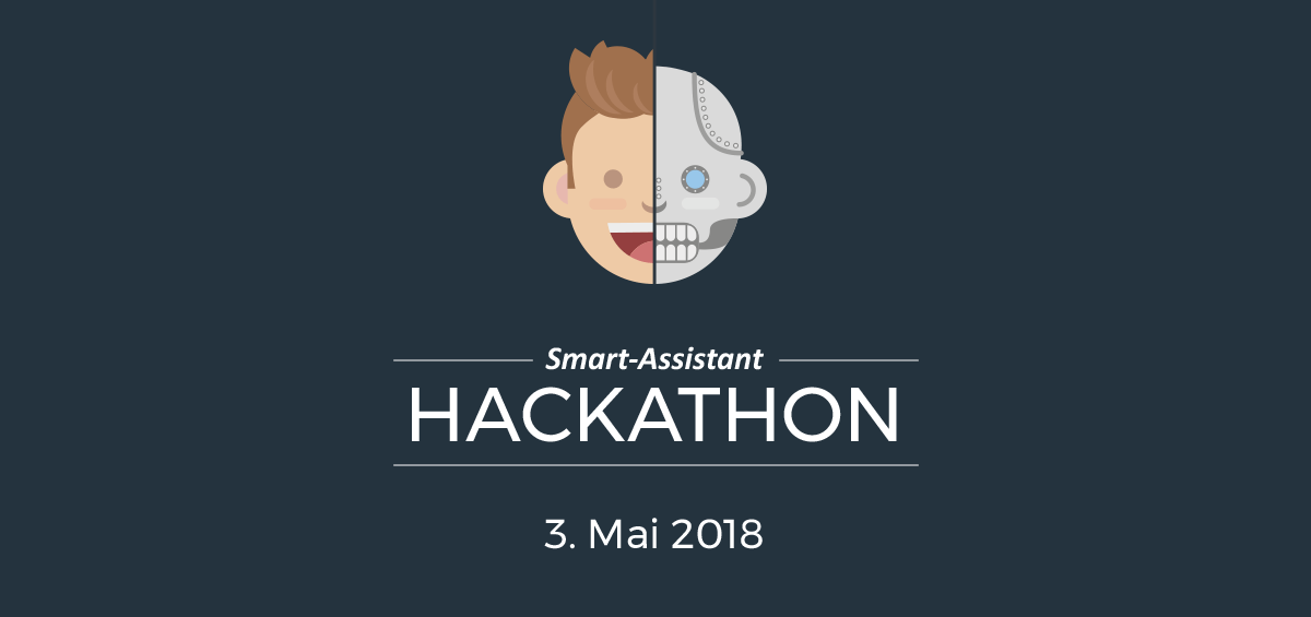 Hackathon Logo Dark Blue Background