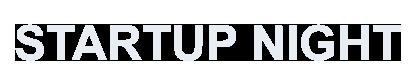 Startup Night Logo White