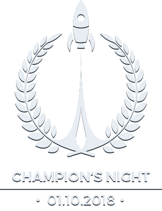 Champions Night Logo White 1.10.2018