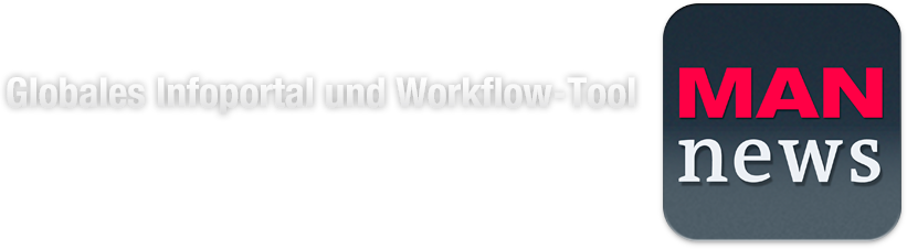 Man News Globales Infoportal und Workflow Tool Logo