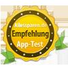 Alles-Sparen.de Empfehlung App-Test awards