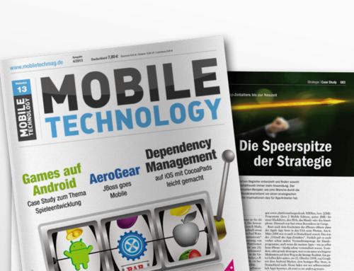 """Artikel: """"Vom Urknall des App Zeitalters bis zur Neuzeit"""""""