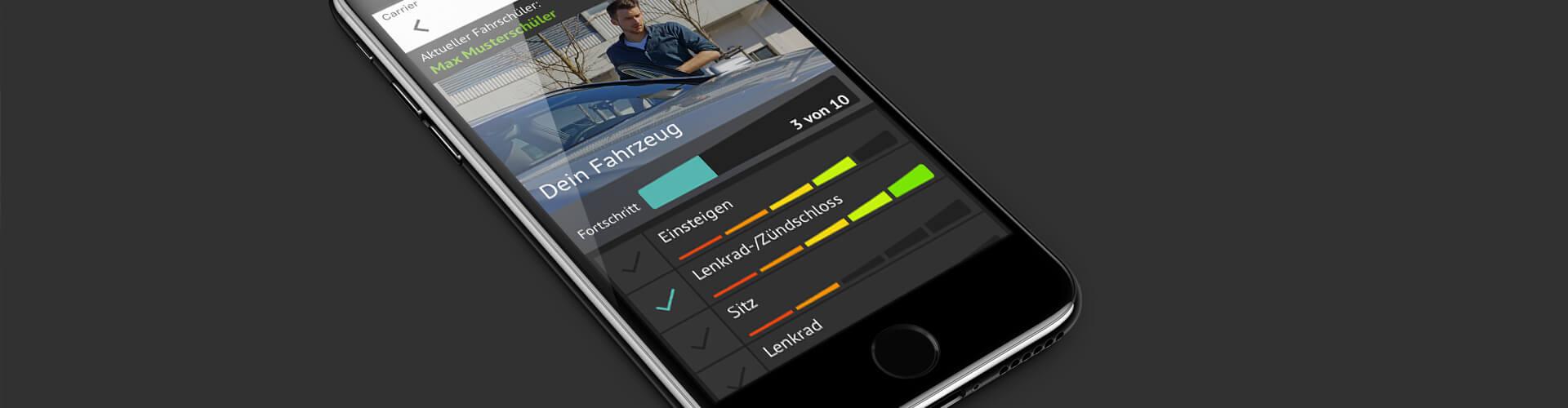 Abibaro App auf iPhone