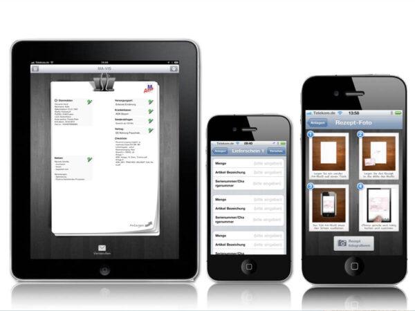 Mavis Mobile Healthcare auf Iphone und iPad
