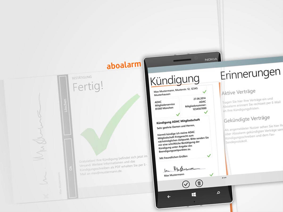 Aboalarm App auf WIndows Phone