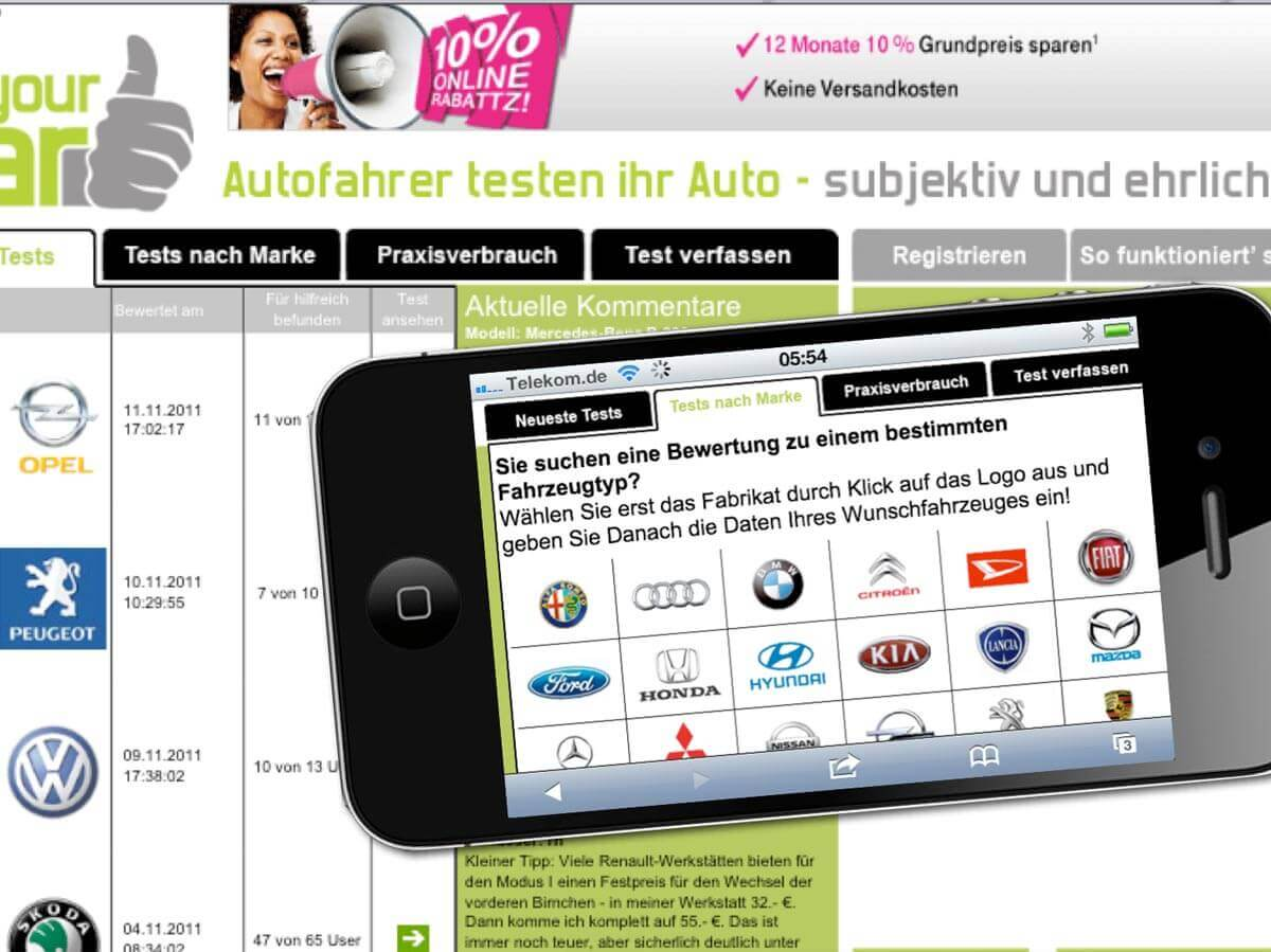 rateyourcare app auf iphone