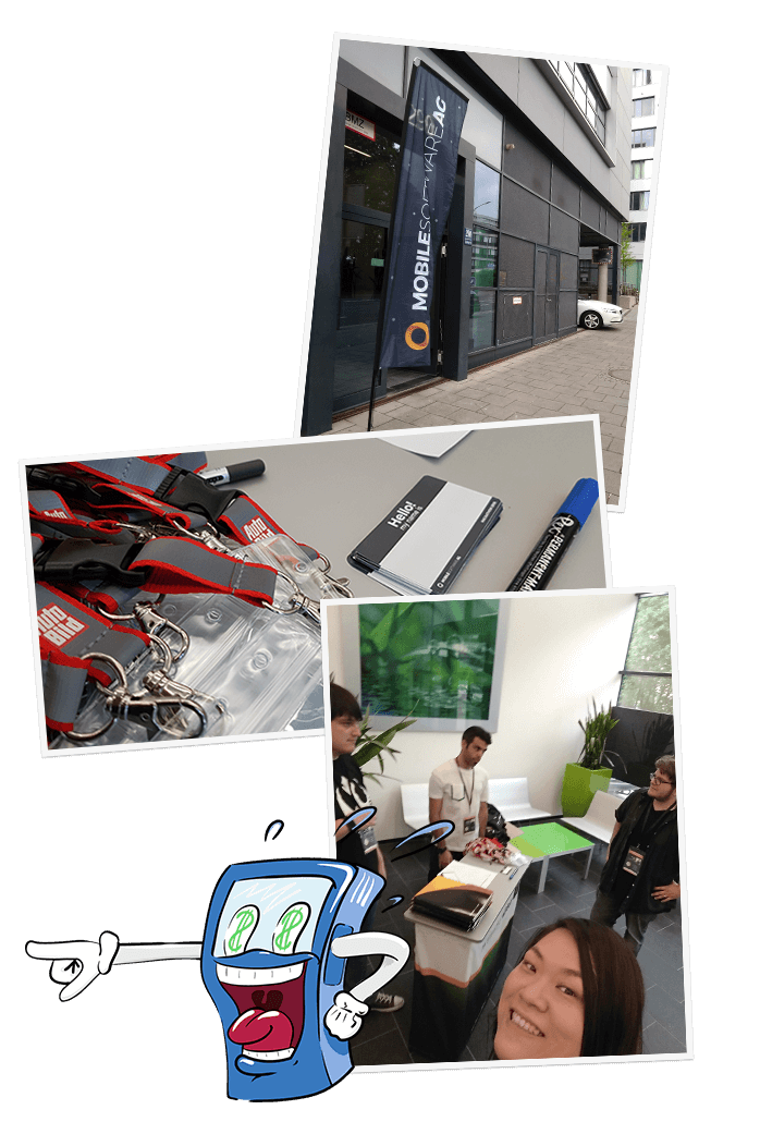 Foto Collage vom MSWAG Hackathon 2018