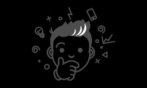 Illustration - Kollege analysiert und denkt nach