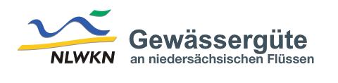 NLKWN Gewässergüte Logo an niedersächsischen Flüssen