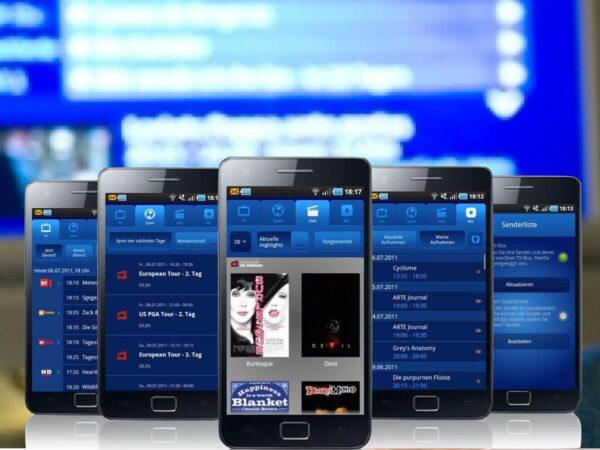 Swisscom TV Guide app auf Smartphones