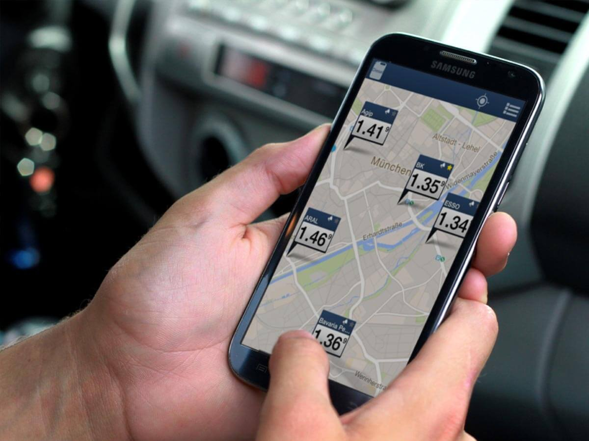 Clever Tanken App auf Iphone