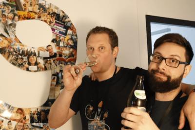 Jens und Wehrmann 9ter Geburtstag Mobile Software AG