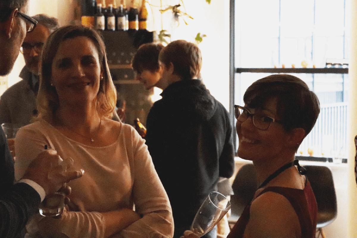Melanie von Mobile Software AG auf Geburtstag Party